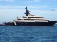"""""""Seven Seas"""" 280 ft, Stephen Spilsberg Mega yacht."""