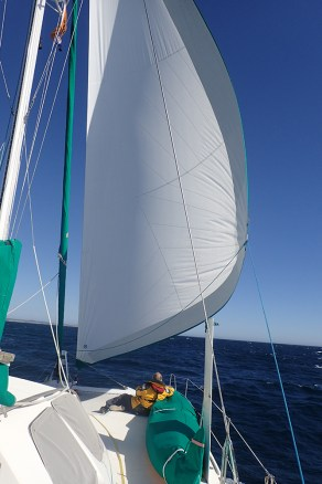 Sailing with the Reacher