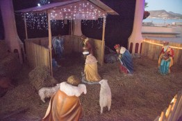 Nativity Scene, all but the baby