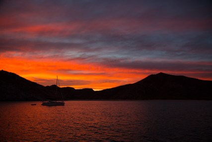 Sunset at San Juanico