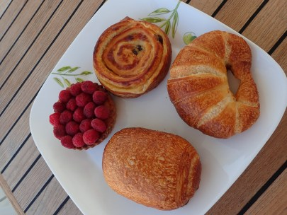 Typical breakfast in Barra