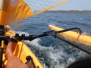 It's fun with the sail and pedals!