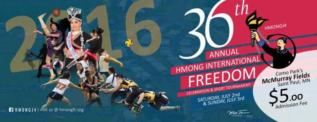The 36th Annual Hmong Freedom Celebration aka J4 is here.
