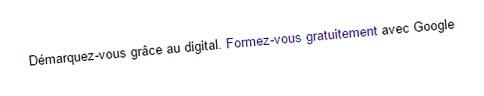 """Formation """"Digital Active"""" Google"""