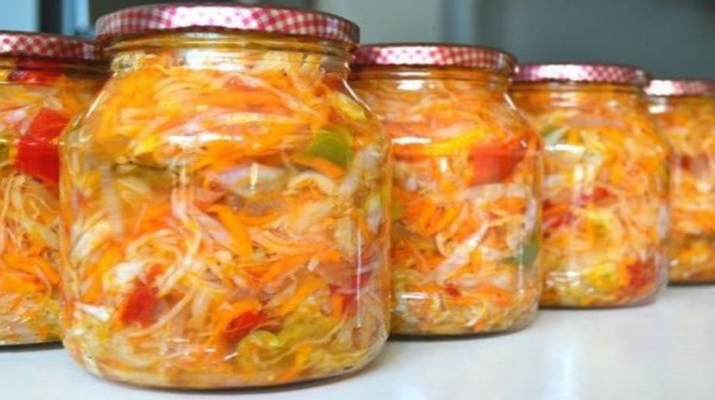 Салат с лечо на зиму рецепты с