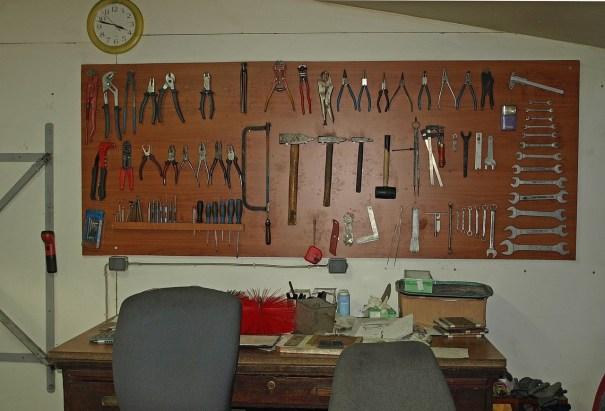 Dio zbirke naših alata - bez brige, imamo i kompjutor!
