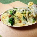オーブン料理の季節(アイシメジ&キシメジのマカロニグラタン)