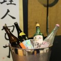 Sake tasting at Chef's Armoury