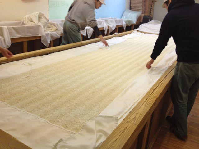 Koji making process