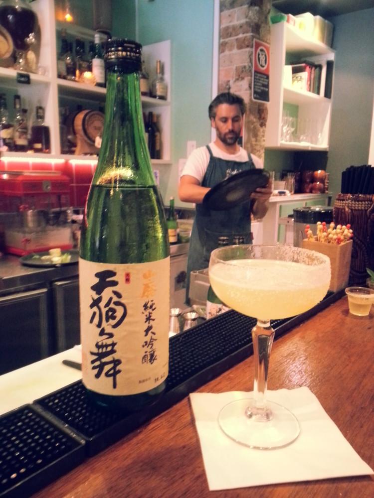 Tengumai Daiginjō sake Cocktail