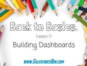 Back to Basics: Building Dashboards