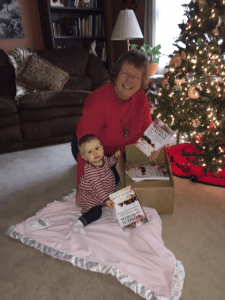 It never gets old opening a box of books with your story in it! Granddaughter, Sophea wants to what all the fuss is about! http://www.amazon.com/gp/product/1943470030/sallferg-20