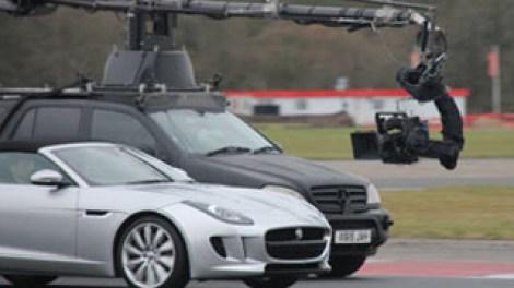 Jaguar F-Type at Bedford Autodrome