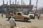 أبين : انفجار عبوة ناسفة في طقم للحزام الأمني بمنطقة العين في لودر وسقوط جرحى