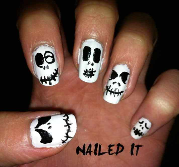 Best Yet Scary Halloween Nail Art Designs Of 2014