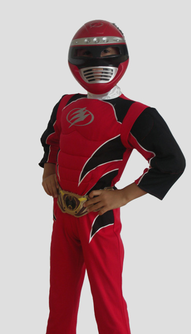 111. Power Rangers Red 1