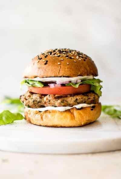 Easy Ground Turkey Burgers Recipe • Salt & Lavender