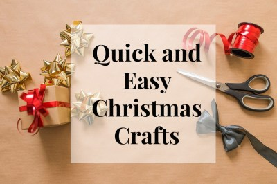 Quick and Easy Christmas Crafts - Salty Blonde