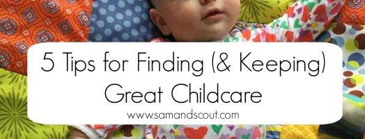 Finding Childcare