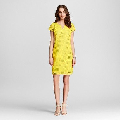 Women's Eyelet Dress from Target (only sold online - buy one get one 50% off right now)