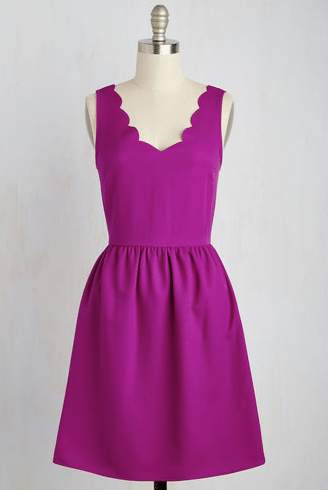 Reliably Blithe Dress in Orchid