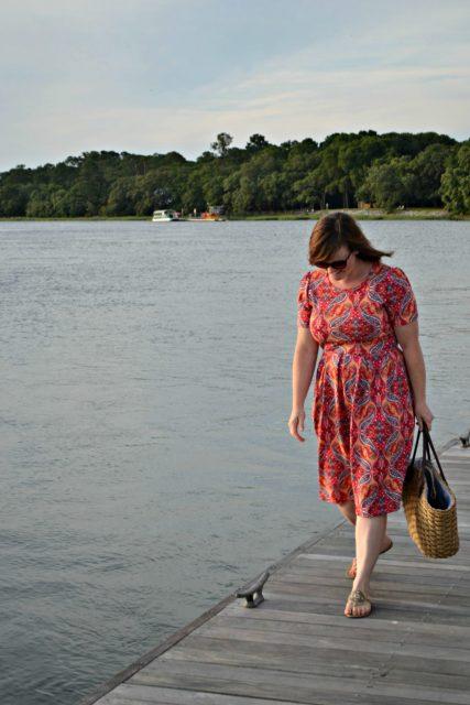 Amelia Walking