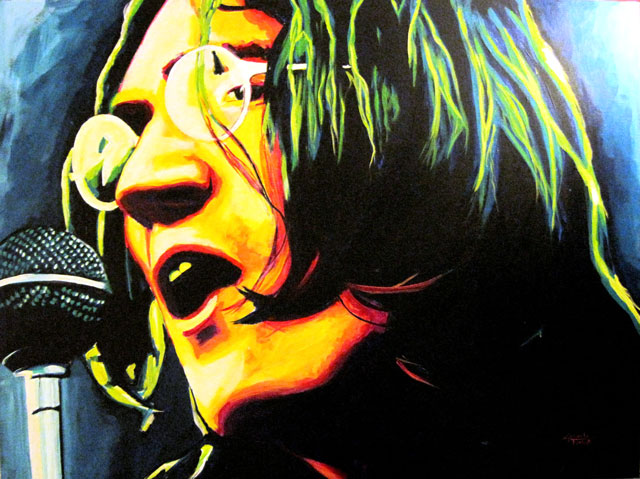 """SOLD: John Lennon 30""""x40"""""""