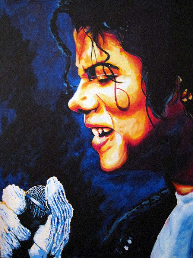 "Michael Jackson 30""x40"""