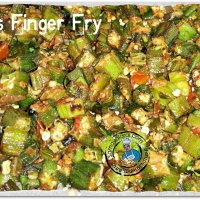 Ladies Finger Fry