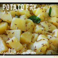 Jeera Potato Fry