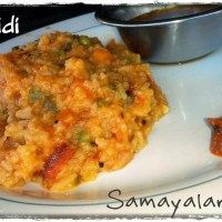 Kitchidi (Rice+Dal+Vegetables)