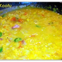 Cabbage Kootu (Cabbage Dhal)