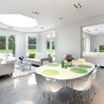 Diningroom lighting by Sam Coles Lighting
