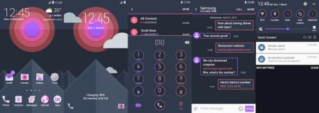 Samsung Galaxy Theme - [Kendi] Mountex