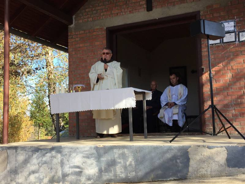 Sv. misa na Motičkom groblju