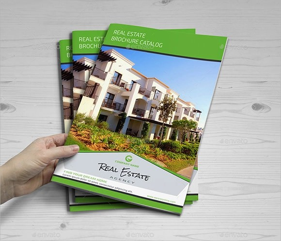 commercial real estate flyer templates Real Estate Brochure     7  Premium Download Sample Templates