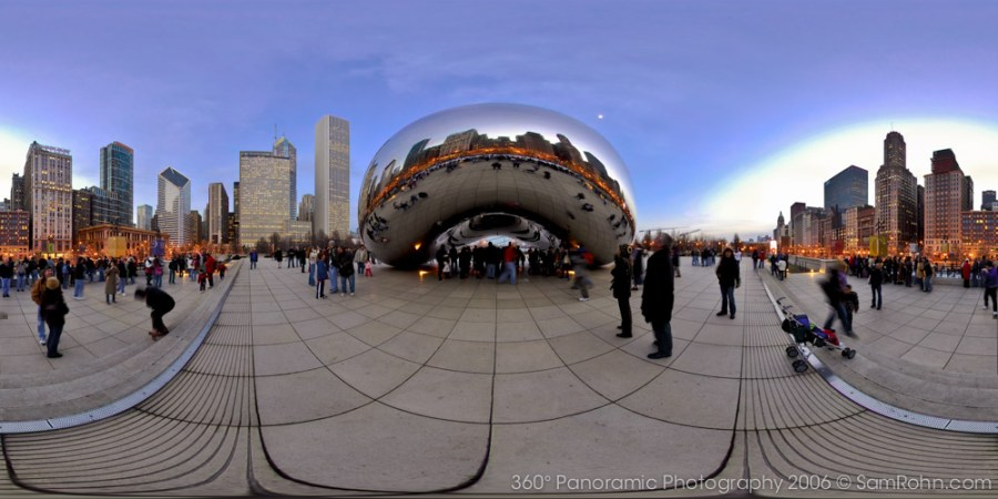 Cloud Gate :: Chicago  :: 360° Panorama