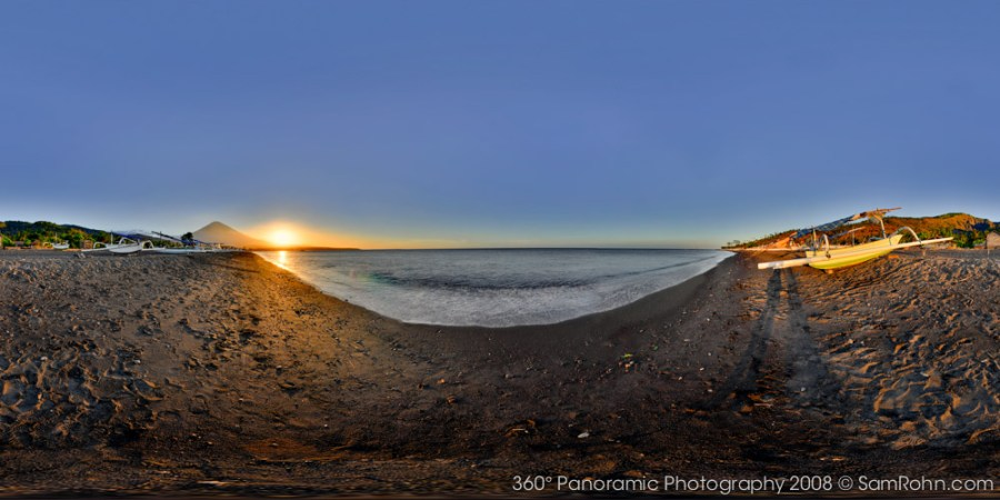 Pantai Amed :: Bali  :: 360° Panorama