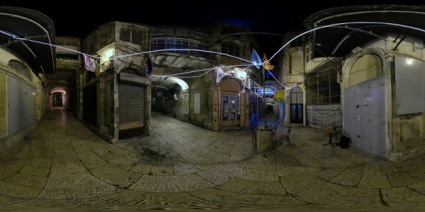 Courtyard - Jerusalem, Old City - 360°