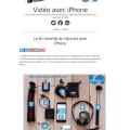 Le site vidéo avec iPhone