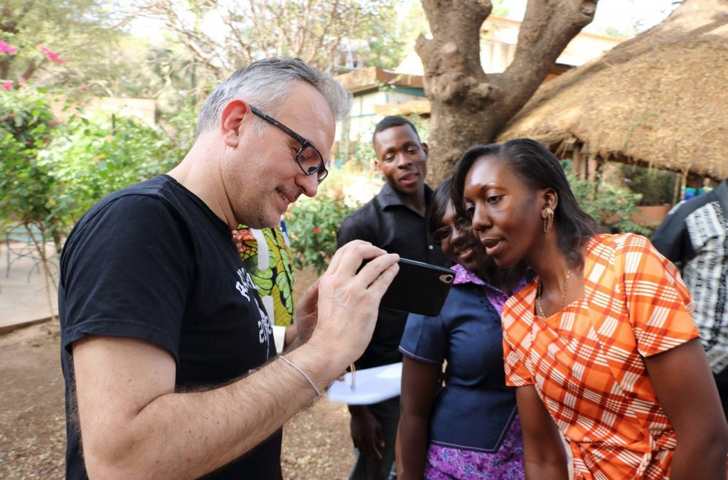 The first Web TV for mobile phones in francophone Africa