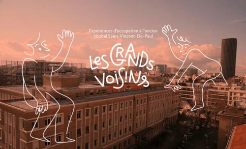 Un an sur le site des Grands voisins à Paris (vidéos)