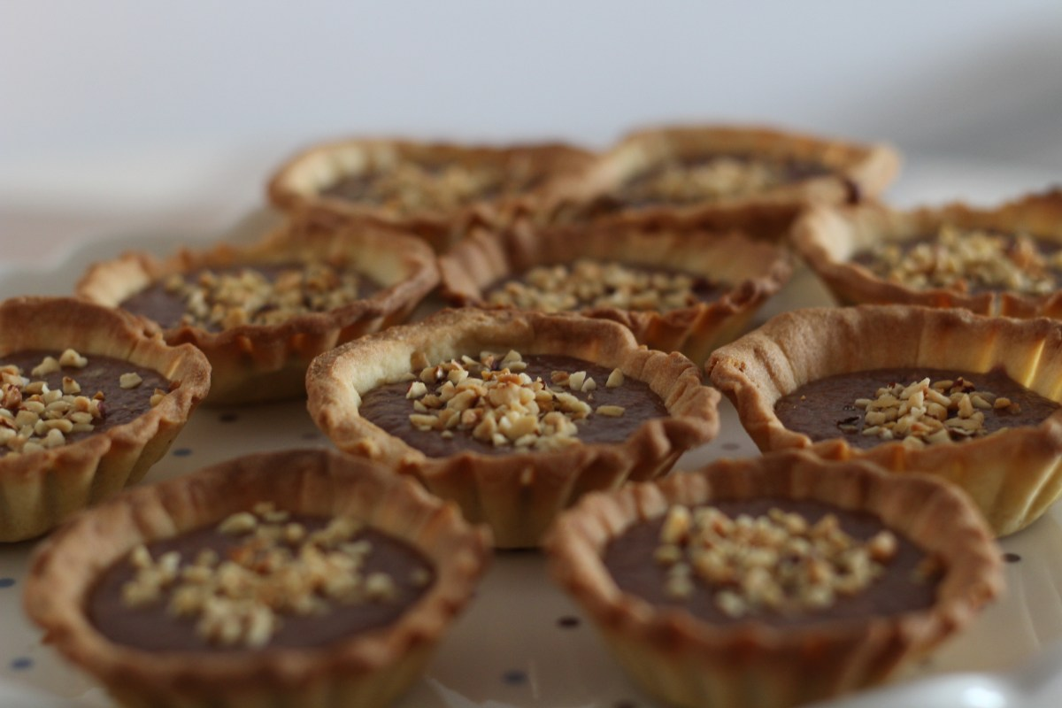 Chocolate Toothpaste Tartlets