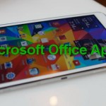 Microsoft Office Apps is Brought to Samsung Galaxy S6 & S6 Edge