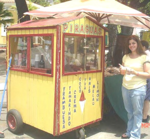 "Thinking about shaving time made me think of shaved ice.  In Puerto Rico, we call it ""piragua.""  My favorite is shaved ice with tamarind juice.   If you are busy getting organized and shaving time, make sure to stop, put a little flavor on it and enjoy."