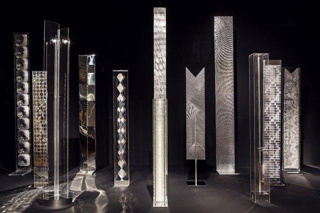 Heinz Mack (1931 -) Işık Stelleri, 1964 – 2014 Pleksiglas, alüminyum Enstalasyon: Martin-Gropius-Bau, Berlin 2015
