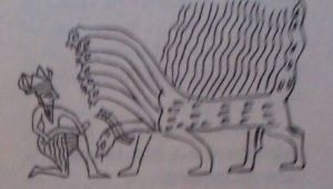 Resim 14: yedi başlı yılan ejder