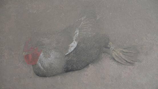 Kum ve toprağa su katılıp çamurla yoğurmuş gibi yapıldığı sanılan tabloların, daha ayrıntılı bakılınca aslında bir renkler armonisi olduğu anlaşılacaktır.