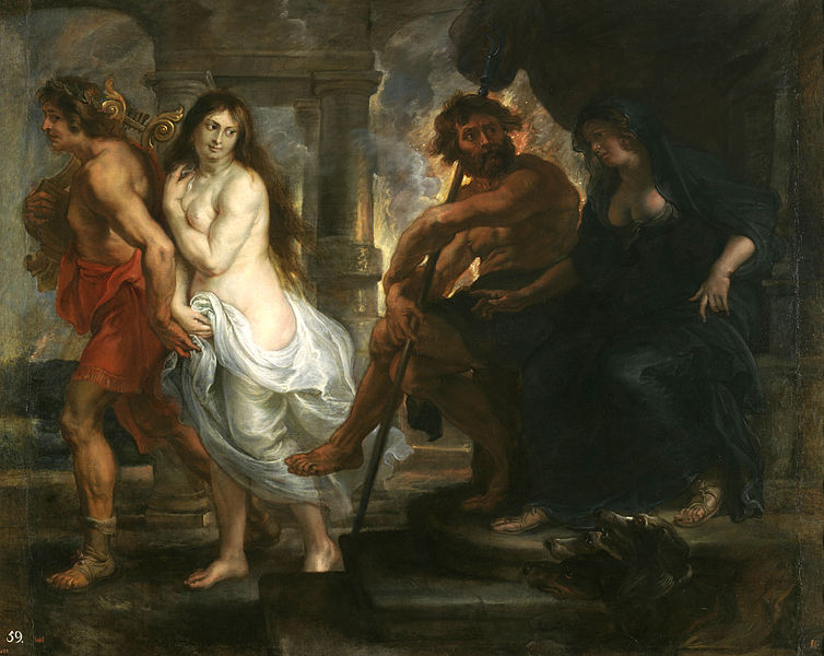 Peter Paul Rubens, Orpheus and Eurydice