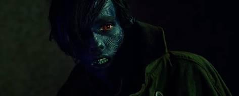 Teleportasyon özelliğini taşıyan Nightcrawler.